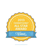 Constant Contact Business Partner All Star Award