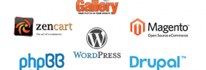 One-Click Installs for WordPress, Drupal, Joomla, Magento and more